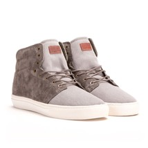 VANS Alcon (Military) Bungee Gray Suede Sk8 Hi  MEN'S 6.5 WOMEN'S 8 - $49.94