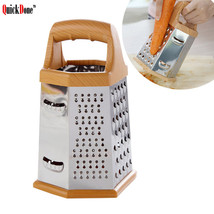 QuickDone 6 in 1 Stainless Steel Fruit Vegetable Grater - €17,71 EUR