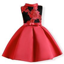 Flower Girl Dress Wedding Bridesmaid Birthday Pageant Formal Party Kid T... - $22.45