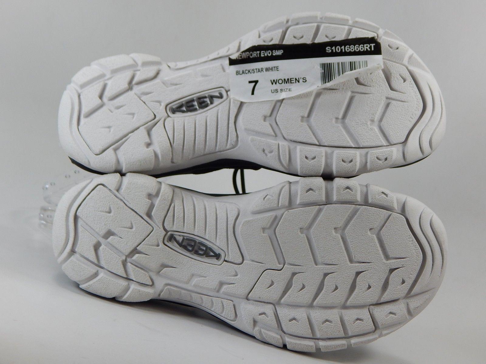 Keen Newport EVO Size US 7 M EU 37.5 Women's Sport Sandals Black /Star White