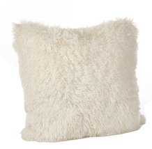 Fennco Styles Juneau Collection Classic Faux Fur Down Filled Throw Pillo... - $43.55