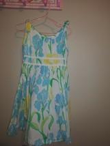 Lilly Pulitzer Little Girls Daffodil Daze Dress Sz 5 Adorable  - $41.57