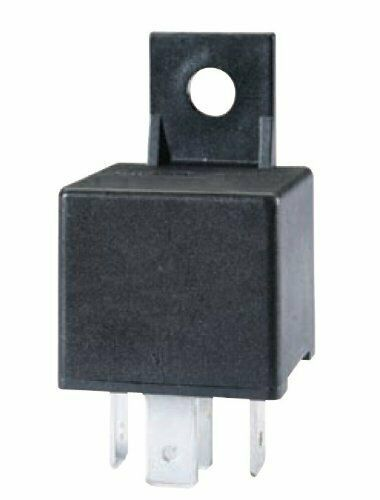 Primary image for HELLA 965400031 Black 24V 30 Amp Mini ISO SPST Relay with Bracket