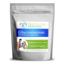 Glucomannan Konjac fibre Reduction of body weight pills  best natural di... - $2.97+