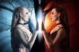 MAGICK MIRROR REFLECTION SPELL! REFLECT THEIR EVIL BACK AT THEM! WHITE M... - $89.99