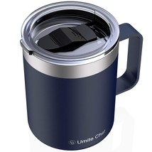 Umite Chef Stainless Steel Insulated Coffee Mug Tumbler with Handle, 12 ... - $32.20+