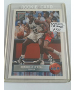 1992-93 Upper Deck McDonald's #P43 Shaquille O'Neal RC : Orlando Magic - $1.85