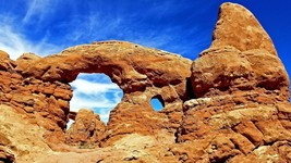 AllenbyArt Arch This Landscape Scenery of Arches National Park Wall Art Poster - $35.00+