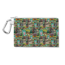 Adventureland Disney Inspired Canvas Zip Pouch - $15.99+