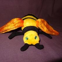 """Bee Buzzie Ty Beanie Baby Plush Stuffed Animal Toy 2001 Yellow Black  6"""" - $7.21"""