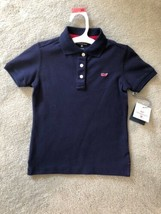 NWT Vineyard Vines For Target XS 4/5 Navy Polo Shirt - $25.73