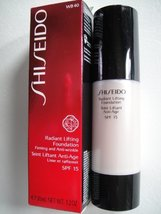 Shiseido Radiant Lifting Foundation SPF 17 - # WB40 Natural Fair Warm Be... - $29.69