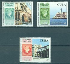 Cuba 2005 The 150th Anniversary of the Cuban Stamps  (MNH)  - Architectu... - $2.40