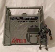 Real Steel Build N Battle ATOM Set Jakks Pacific 2011 Hugh Jackman - $55.43