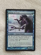 Martyr Of Frost Foil Coldsnap Blue Common Magic Gathering Card - $3.46