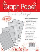 "Crafter's Helper Needlework Graph Papers-8.5""X11"" 40/Pkg - $8.56"