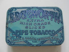 EDGEWORTH PIPE TOBACCO HINGED ANTIQUE ADVERTISI... - $23.76