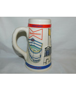 1982 Budweiser Bow Tie Label Chicago Our Kind of Town Soldier Field Stei... - $15.99