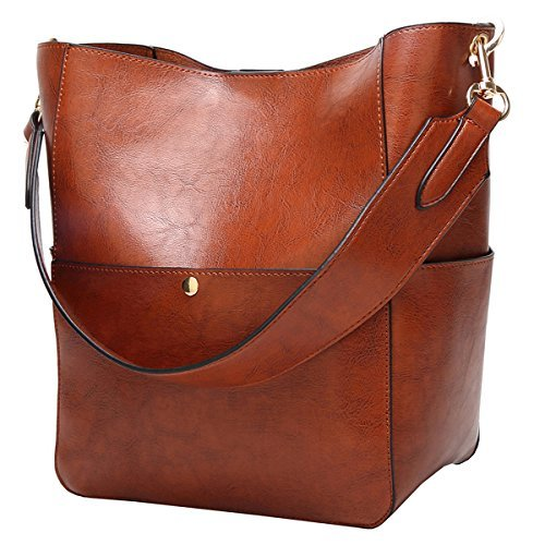 Molodo Women's Satchel Hobo Top Handle Tote Shoulder Purse Soft Leather Crossbod