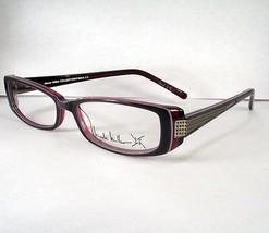 NICOLE MILLER Merci Violet Cream Eyeglasses Eyewear Women new Frames - $49.49