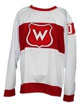 Custom Name # Montreal Wanderers Retro Hockey Jersey New White Any Size image 4