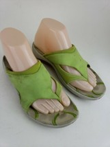 MERRELL Thong Sz 7 Women's Sweet Pea Green Sports Sandals Performance La... - $18.69