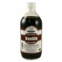 Benjamins Artificial Vanilla Flavoring 16oz, 480ml - $35.63