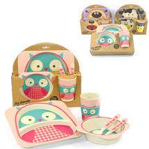 LEMAIJIAJU Bow Bab Dinnerware Set Cartoon Animal Children - $39.95