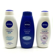 Nivea Body Wash Shower Gel 750ml/25.36 oz Cream Care/Cashmere/Diamond 3 Pack Set - $123.45