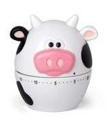 NEW Joie # 43363 Cow Moo Moo 60 minute Mechanical Kitchen Timer - $9.94 CAD