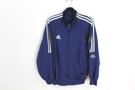 1196f0b3648e Vintage 90s Adidas Mens Small ClimaCool Full Zip Spell Out Soccer Jacket...  -