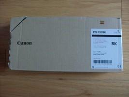 Genuine Canon PFI-707BK Black Ink Tank 9821B001AA iPF830 iPF840 iPF850 (... - $153.34