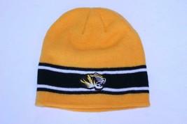 Adult Missouri Tigers Mizzou Beanie Stocking Cap Hat (Yellow) - $11.29