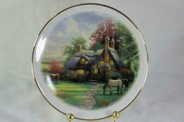 Teleflora 2003 Thomas Kinkade A Perfect Summer's Day Collector Plate - $6.29