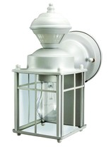 White Bayside Mission Style Motion Activated Lantern Motion Activated - $34.54