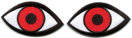 Eyes eyeballs wicca horror goth punk retro embr... - $4.94