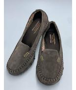 Skechers 6.5 Chocolate Brown Bikers Pedestrian Memory Foam Comfort Shoes... - $21.99