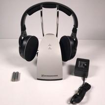 49547c12f56 Sennheiser Rechargeable Wireless Headphones HDR120 W/ Charging Dock & Ba...  -