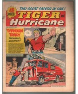 Tiger and Hurricane 8/28/1965-Johnny Cougar-Val Venture-British-G/VG - $37.83