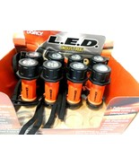 Dorcy LED Industrial Flashlights Lot of 8 Triple Mode(9 LED) NEW - $19.33