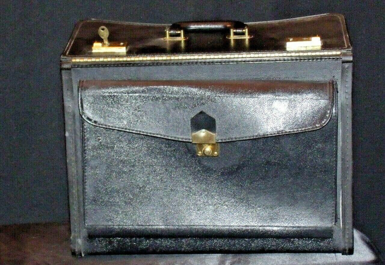 Large Briefcase AA19-2068 Vintage