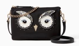 Kate Spade star bright owl madelyne Nylon Crossbody Chain Clutch ~NWT~ $249 - $146.52
