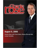 Charlie Rose with Frank Gehry, Renzo Piano & Ada Louise Huxtable (August... - $8.90
