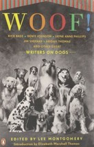 Woof!  Writers on Dogs  : Ed. Lee Montgomery : New Hardcover @ZB - $13.50