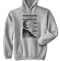 Vladimir Putin Have To Try Quote - New Cotton Grey Hoodie - $39.91