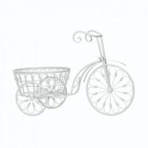 White Bicycle Planter - $46.56