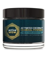 Active Wow Teeth Whitening Charcoal Powder Natural - $19.99+