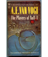A E Van Vogt The Players of Null-A Berkley F1195 First Printing - $7.91