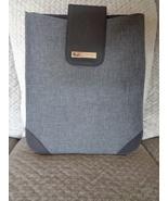 BVLGARI Parfums Unisex Black iPad Tablet Pouch New  - $39.99