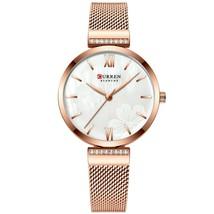 Curren Women's Steel Quartz Wrist Watch 9067 (Rose Gold) - $29.00
